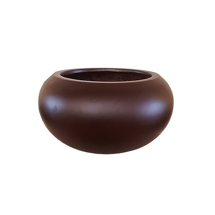 Fiber Stone Pot, Matt Brown