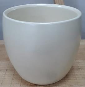 Ceramic Bartha Pot Nacre 15/13 CM