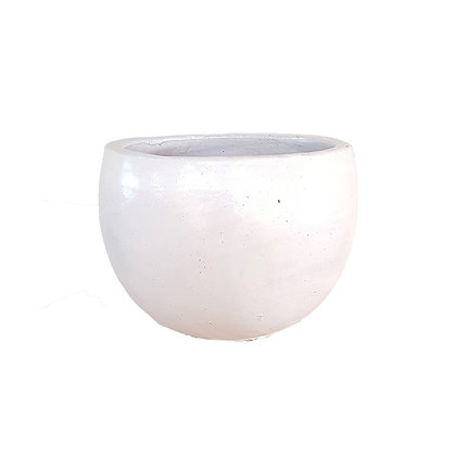 Ceramic Pot, Matt White