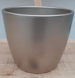 Ceramic Boule Pot Champagne 13.5/12/9.5 CM