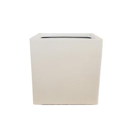 Fiber Stone Pot, Concrete Brown