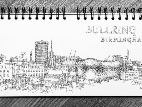 Sketching Birmingham