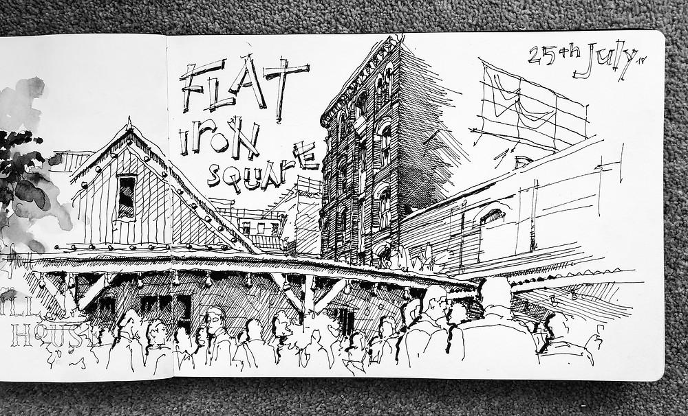 Flat Iron Square (July 2018)