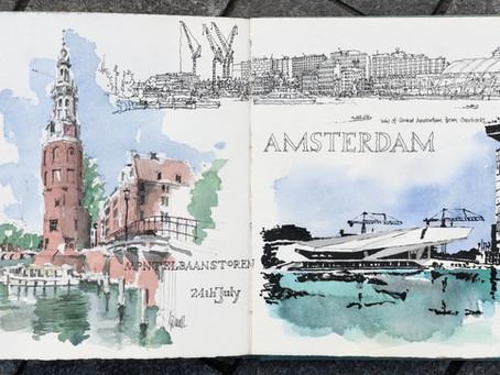 The road toUSk Amsterdamvia Bruges...