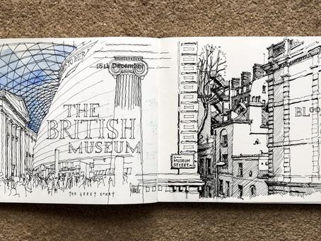 London Urban Sketch Crawls [ 2016/17/18 ]
