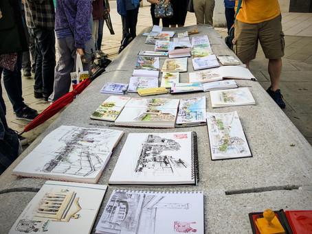Urban Sketchers UK come to Southampton