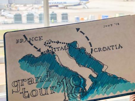 Grand Tour '18 - France / Italy / Croatia