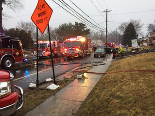 House Fire with Reported Victims Trapped