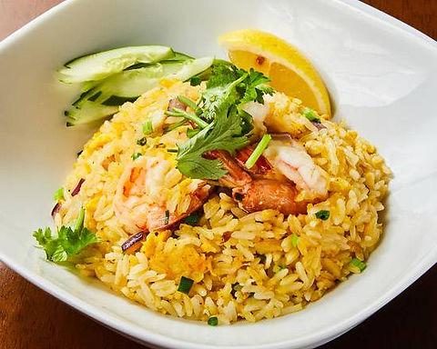 カオパットクン(タイ風エビチャーハン)Shrimp fried rice thai style