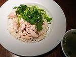 カオマンガイCooked rice with chicken