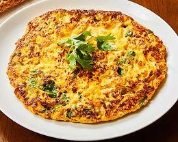 カイ ジャオ ムー サップ(挽肉入りタイ風オムレツ)Prok omelette Thai style