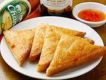カノム パンナー クン(エビの揚げパン)