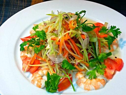 ゴイ ドゥ ドゥ(ベトナム青パパイヤサラダ)Green papaya salad vietnam style