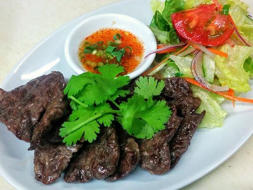 ヌア ヤーン(タイ風焼肉)Grelled beef Thai style