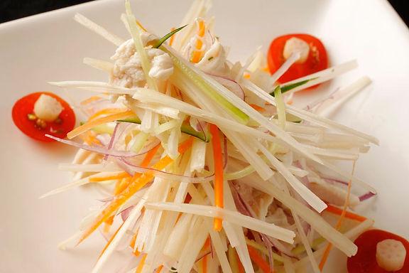 蓮の茎サラダ(ゴイセン)Vietnamese lotus salad