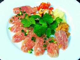 ネーム ソン クルアン(醗酵ソーセージ)Fermented sausage Thai style