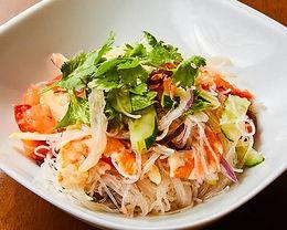 ヤム ウン セン(タイ風海鮮春雨サラダ)Sea food vermicelli salad Thai style