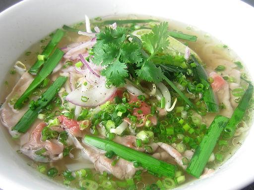 フォーボータイ(ベトナム牛シャブシャブ肉麺)Vietnamese beef rice noodle