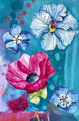 Garden Party_Blue Cards_Andrea Garvey.jp