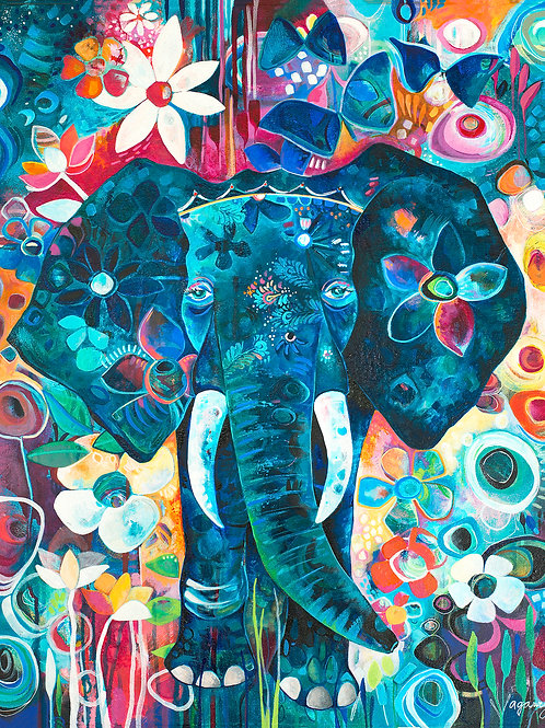 Magical Ellie Giclee Gallery Wrap