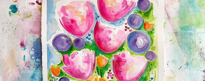 "Creative Session ""Tiptoe through the Tulips"""