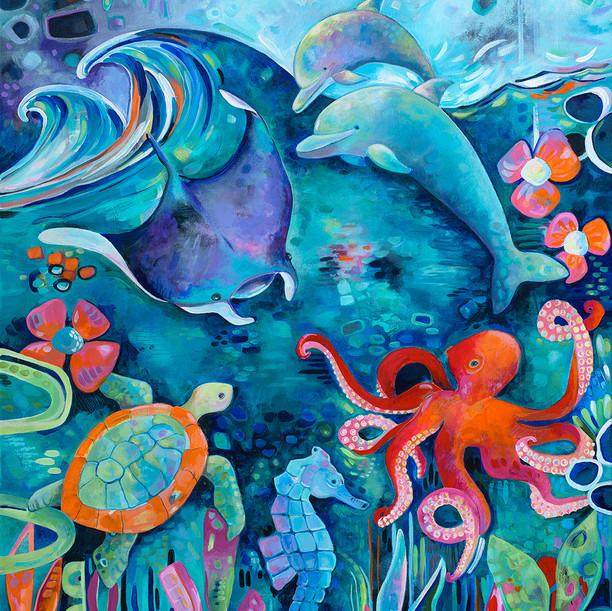 Sea Animal Love