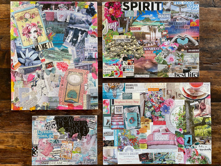 Vision Boards + Manifesting your Dreams