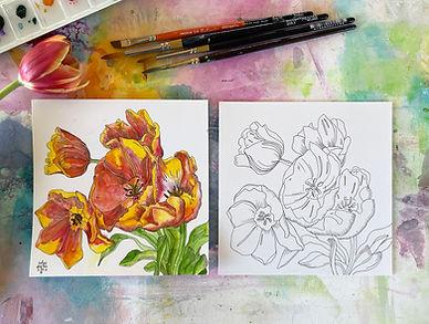 WCB_Tulips_Drawing_no hand_Andrea Garvey.jpg