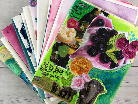 My favorite Sketchbooks + Art Journals