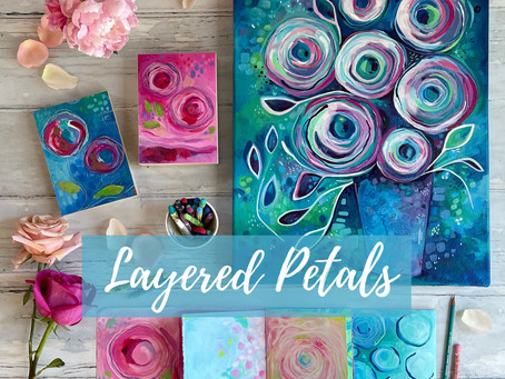 Layered Petals - new online course released!