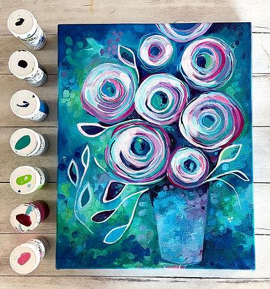 LP Rosette Canvas Andrea Garvey.jpg