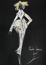 Frank Sorbier 2015 dessin couture