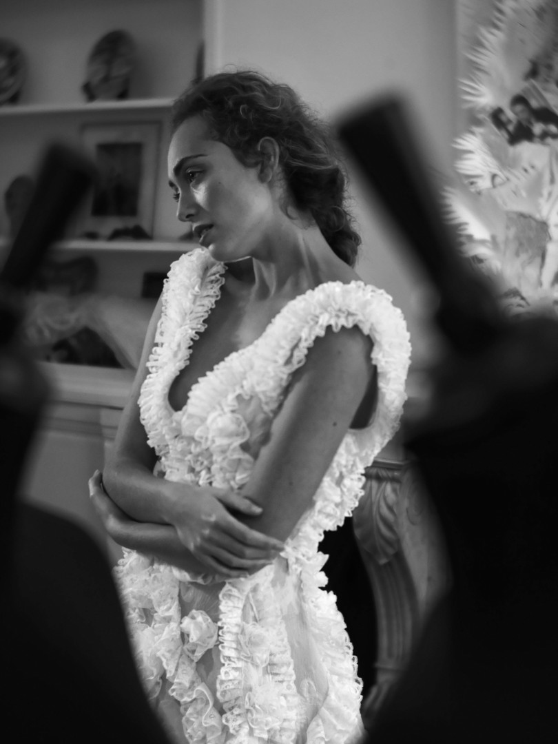 """O Miroir, mon beau miroir - Franck Sorbier Haute Couture Eté 2021 """"Muse en Scène"""""""