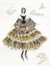 2020 Summer Franck Sorbier Haute Couture sketch