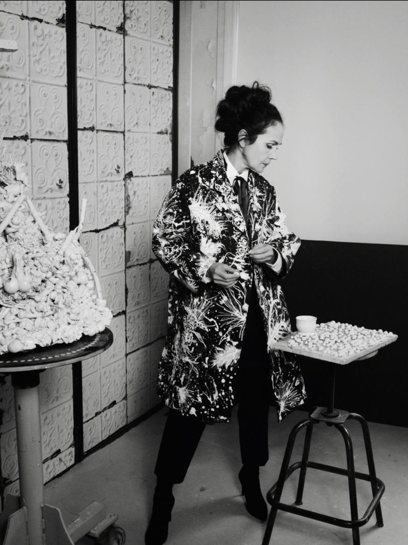 """Alchimie - Franck Sorbier Haute Couture Eté 2021 """"Muse en Scène"""""""