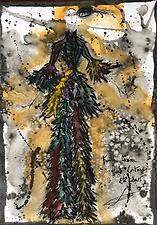 "2015 Summer ""Pirate"" Franck Sorbier Haute Couture sketch"