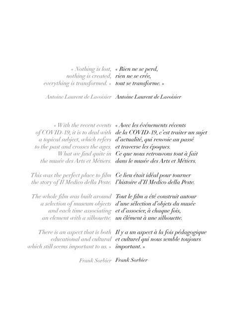 Le Voyage du Maître d'Art au Temple des Techniques / Journey of the Maître d'Art to the Temple of Techniques