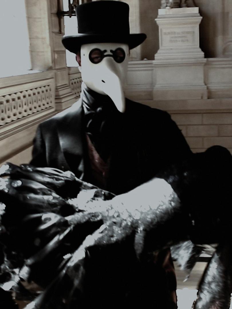 """""""Il Medico della Peste"""" révélation Franck Sorbier Haute Couture Maître d'Art Hiver-Winter 2020/2021"""