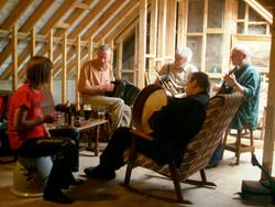 Ted's attic