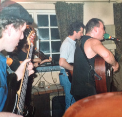 Original Alias bassist, Pete Scott