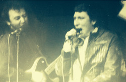 With Chris Farlowe in Dingwalls