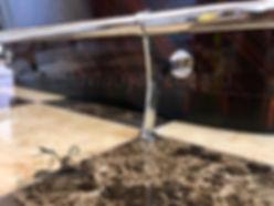 удаление сколов на деревянной мебели