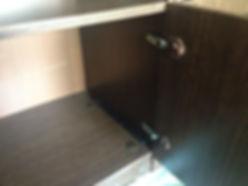 Ремонт петель и дверки шкафа у стенки из СССР