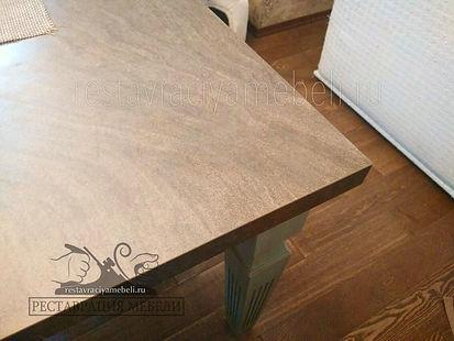 Как убрать царапины на мебели восковым карандашом