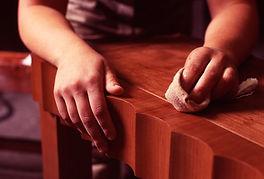 Трещины на мебели реставрация и ремонт