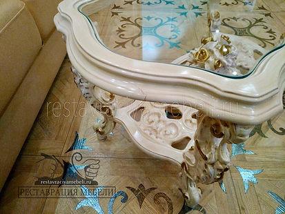 Реставрация мебели эмали
