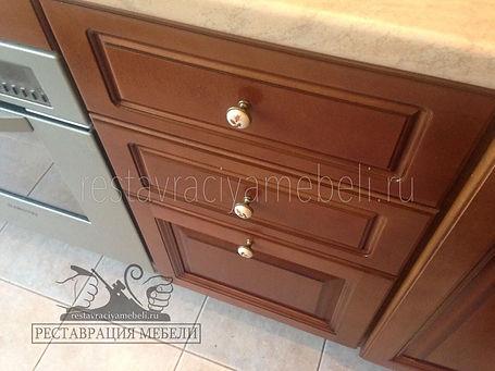 Восстановление кухонной пебели на дому