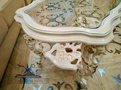 Фото реставрации мебели до и после