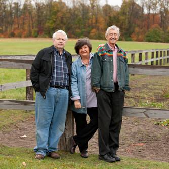Ronora owners Jim Gehring, Deej & Hunter Leggitt