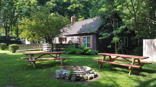 Private bedrooms and open dorms make Grandma's House great for reunions & retreats